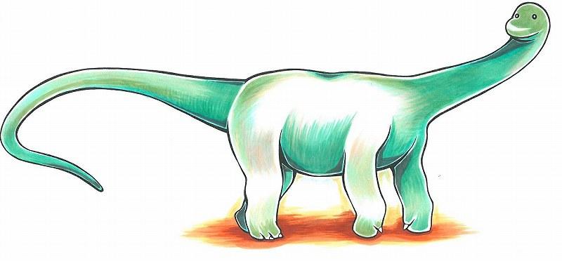 巨大な恐竜は、どうやって体を支えていたのですか?