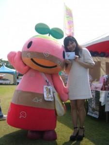 篠山市観光大使と一緒に
