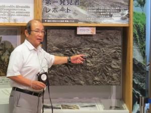 村上さん と化石