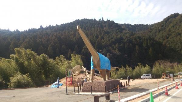 体長15メートル実物大の「丹波竜」全体像現る!