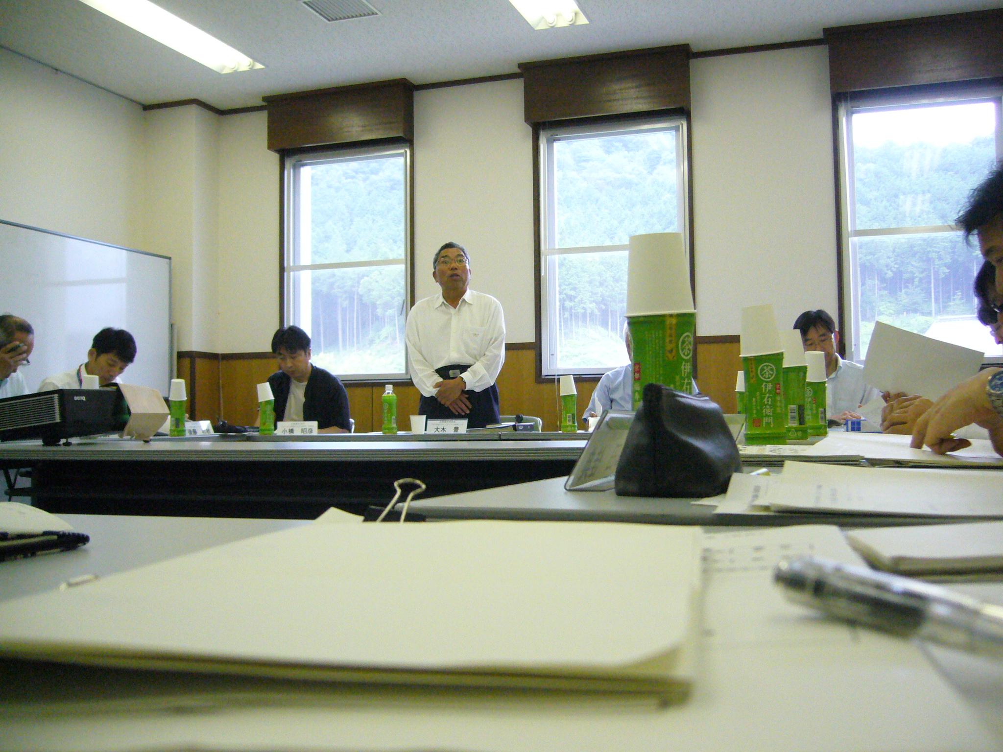 平成24年度 第1回企画運営委員会・幹事会合同会議を開催しました