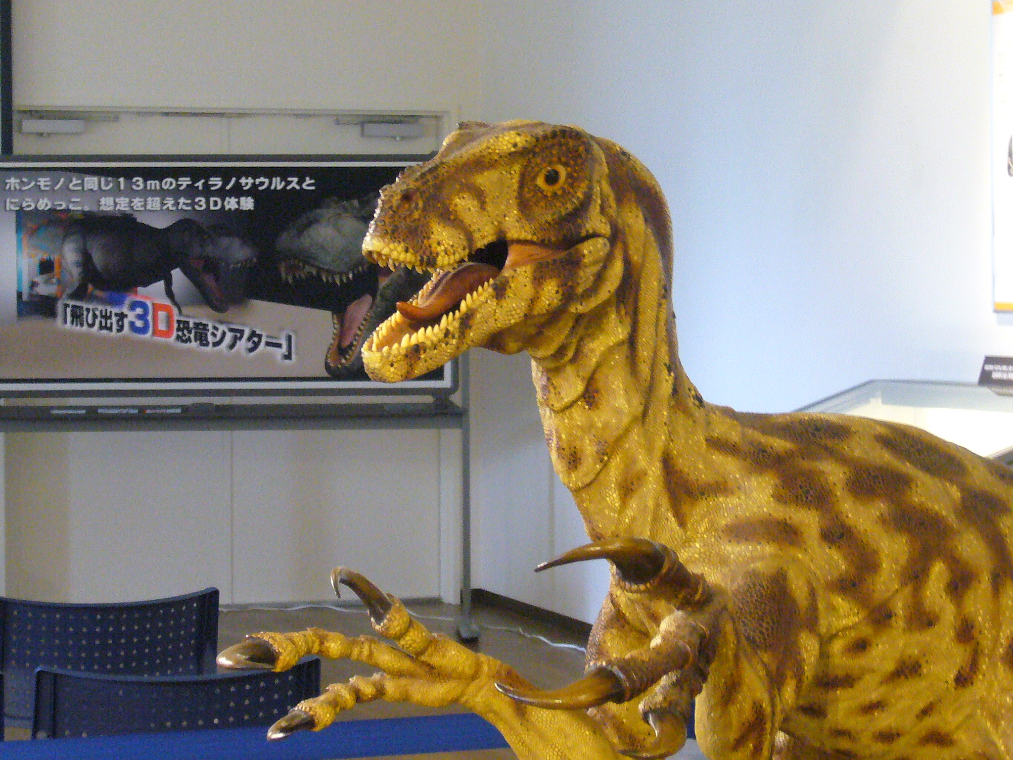 《告知》丹波竜化石工房ちーたんの館「夏休み!特別展開催中!!」