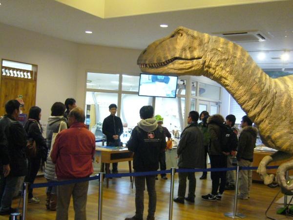 ちーたんの館で恐竜塾開催!